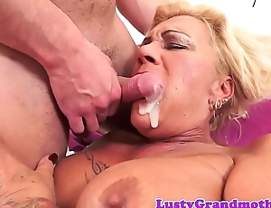 Bigtit gilf fucked indestructible and jizzed in mouth