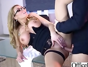 (Stacey Saran) Hot Office Girl With Big Boobs Love Hard Sex movie-29