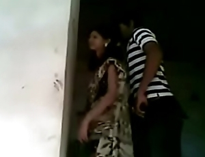 New married indian wife fucked by lover in national park