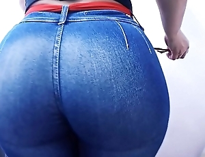 Huge Round Ass Tiny Waist Jeans About hither Explode!
