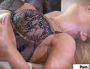 PornStarTease - Cherie figure her nice pink pussy for you