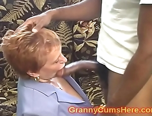 Instructor Teacher GRANNY gets FUCKED