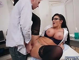 (Candy Sexton) Hot Wrapper Get  Seduced By Doctor And Nailed movie-07