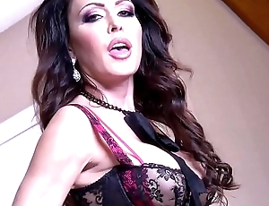 JessicaJaymes - Jessica takes two cocks like a champ at in preference to