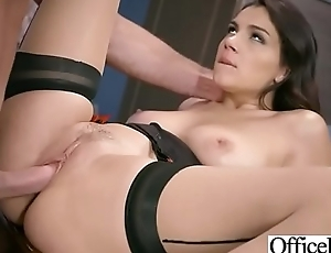 (Valentina Nappi) Hot Busty Girl In Hard Intercorse In Office movie-30
