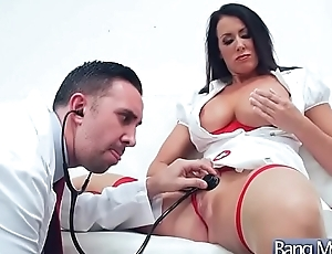 Sex Tape With Sexy Doctor Together with Hot Patient (Reagan Foxx) video-24