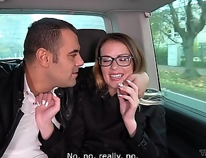 Hot secretary convinced to fuck in be opposite act for with horny stranger