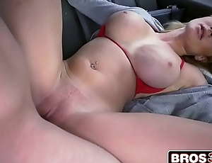 Busty Blonde Amateur Skyla Novea Getting The Bus Ride Of Her Life