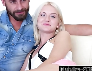 Nubiles-Porn Fuck Her Ingratiate oneself with She Cums
