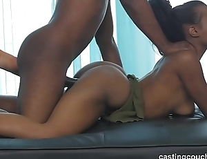 Ex black cheerleader goddess shows what all go off at a tangent cheering was about