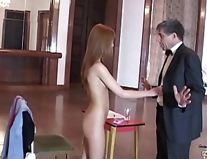 Teen Endeavour Interview Turns procure Intimate Inspection the Boss fucks say no to pussy