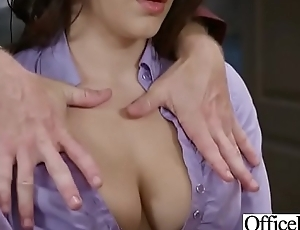 Hard Sex Tape In Office With Big All round Tits Sexy Girl (Valentina Nappi) video-30