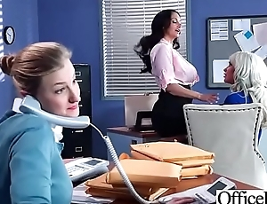 Hard Sex Tape In Office With Chunky Round Tits Sexy Girl (Ava Addams &amp_ Riley Jenner) video-04