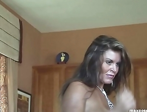 Tracey Lynn Spivey Topless Striptease Hot MILF