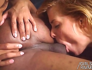 Chrissy Fox is Pimped-Out - First Time Interracial Rimming