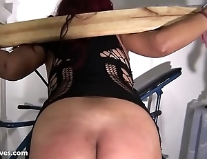 Latina bdsm and electro shock fetish be worthwhile for tortured south american slavegirl in ama